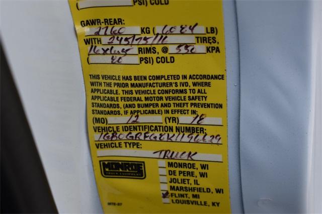 2019 Express 3500 4x2, Reading Aluminum CSV Service Utility Van #40878 - photo 31
