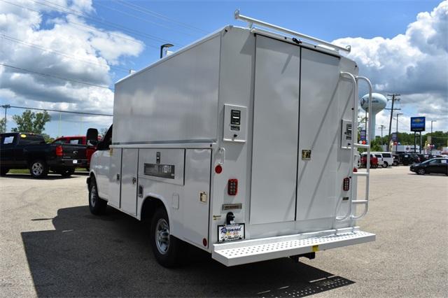 2019 Express 3500 4x2, Reading Aluminum CSV Service Utility Van #40878 - photo 5