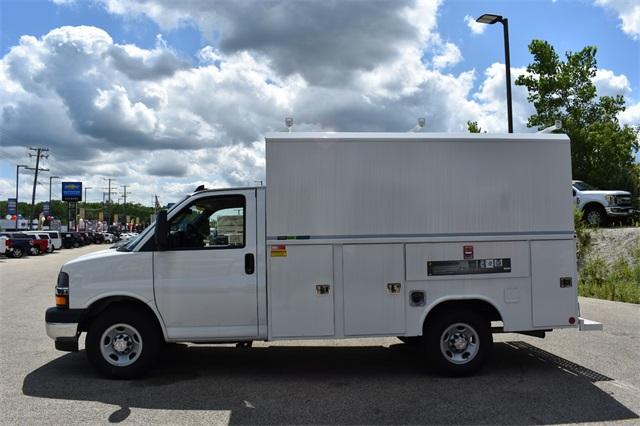 2019 Express 3500 4x2, Reading Aluminum CSV Service Utility Van #40878 - photo 6
