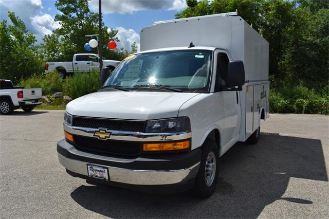 2019 Express 3500 4x2, Reading Aluminum CSV Service Utility Van #40878 - photo 7