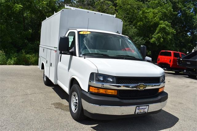 2019 Express 3500 4x2, Reading Aluminum CSV Service Utility Van #40878 - photo 9