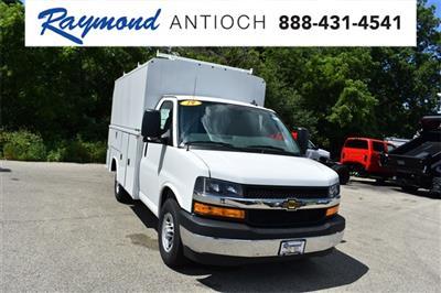 2019 Express 3500 4x2, Reading Aluminum CSV Service Utility Van #40878 - photo 1