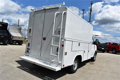 2019 Express 3500 4x2, Reading Aluminum CSV Service Utility Van #40878 - photo 2
