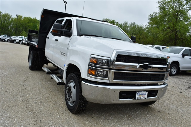 2019 Silverado 4500 Crew Cab DRW 4x2, Monroe Dump Body #41348 - photo 1