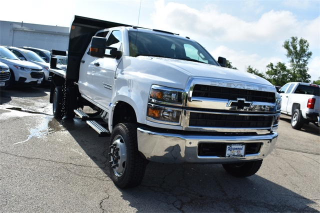 2019 Silverado 4500 Crew Cab DRW 4x4, Monroe Dump Body #41520 - photo 1