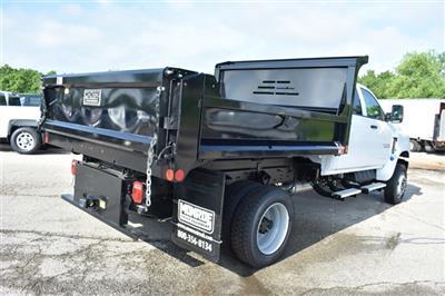 2019 Silverado 4500 Crew Cab DRW 4x4, Monroe MTE-Zee Dump Body #41520 - photo 2
