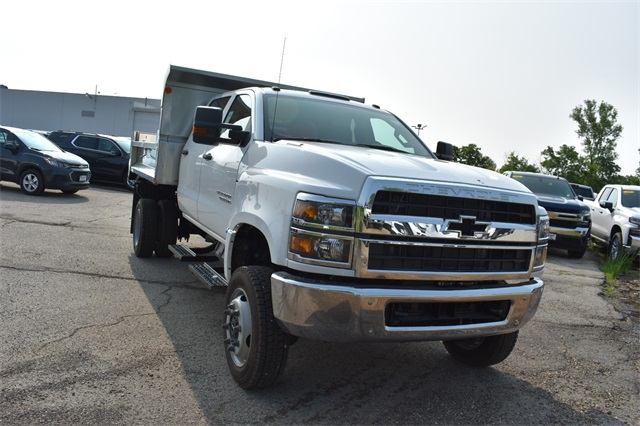 2019 Silverado Medium Duty Crew Cab DRW 4x4,  Monroe Dump Body #41585 - photo 1