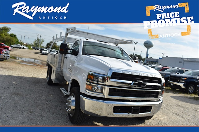 2019 Silverado 4500 Regular Cab DRW 4x2, Monroe Contractor Body #41810 - photo 1