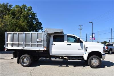 2019 Silverado Medium Duty Crew Cab DRW 4x4, Monroe AL Series Landscape Dump #41827 - photo 3
