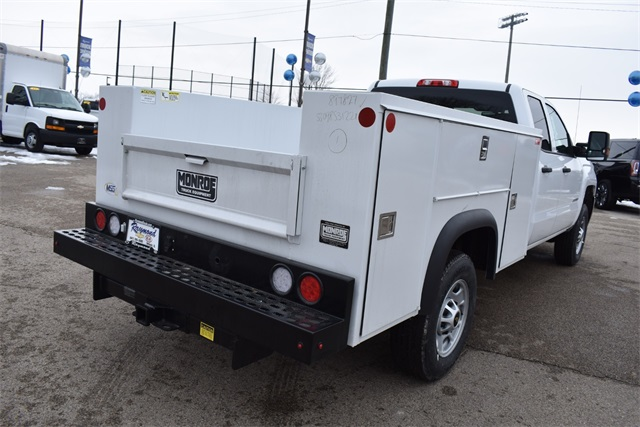 2019 Chevrolet Silverado 2500 Double Cab 4x4, Monroe Service Body #42143 - photo 1