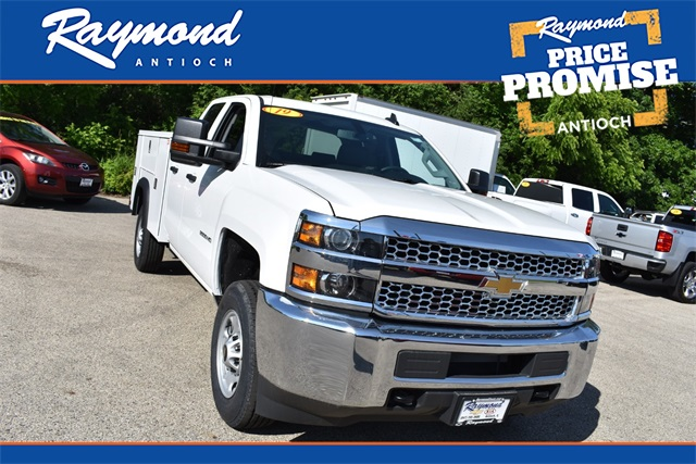 2019 Chevrolet Silverado 2500 Double Cab 4x2, Monroe Service Body #42203 - photo 1