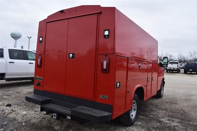 2020 Chevrolet Express 3500 4x2, Knapheide Service Utility Van #42221 - photo 1