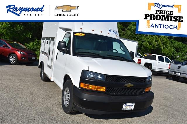 2020 Chevrolet Express 3500 4x2, Bay Bridge Service Utility Van #42224 - photo 1