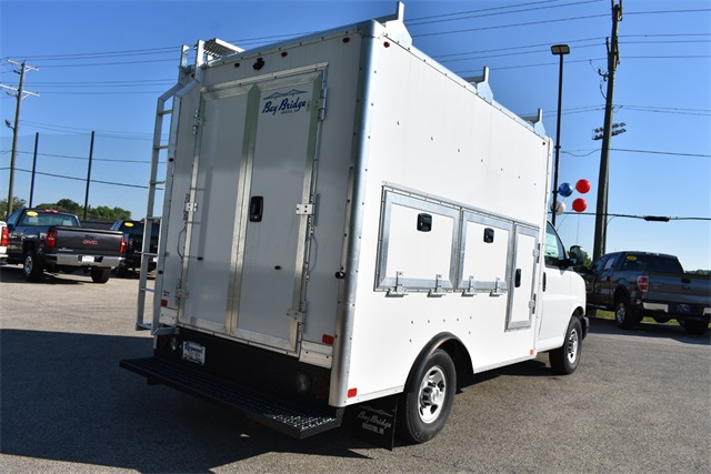 2020 Chevrolet Express 3500 4x2, Bay Bridge Tool Pro Service Utility Van #42224 - photo 2