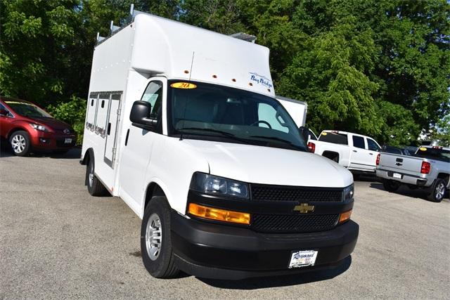 2020 Chevrolet Express 3500 4x2, Bay Bridge Tool Pro Service Utility Van #42224 - photo 9