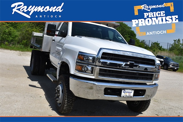 2020 Chevrolet Silverado 4500 Regular Cab DRW 4x4, Monroe Dump Body #42438 - photo 1