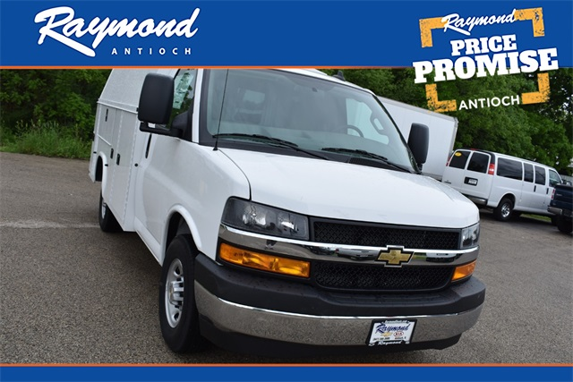2020 Chevrolet Express 3500 4x2, Knapheide Service Utility Van #42480 - photo 1