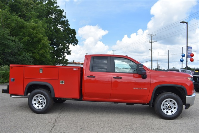 2020 Chevrolet Silverado 3500 Double Cab 4x2, Monroe MSS II Service Body #42525 - photo 3