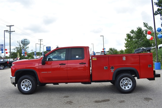 2020 Chevrolet Silverado 3500 Double Cab 4x2, Monroe MSS II Service Body #42525 - photo 6