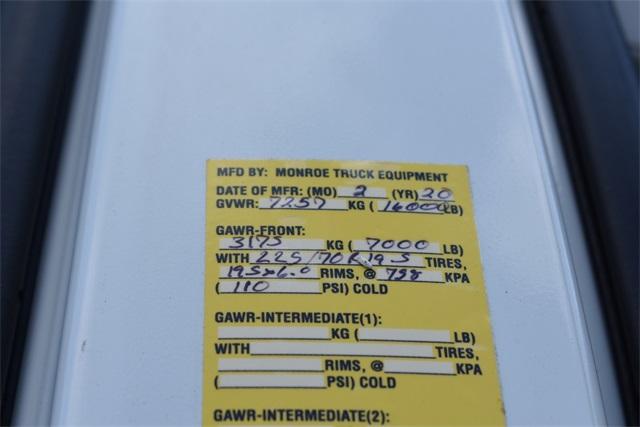 2020 Chevrolet Silverado 4500 Crew Cab DRW 4x2, Monroe MTE-Zee SST Series Dump Body #42544 - photo 31