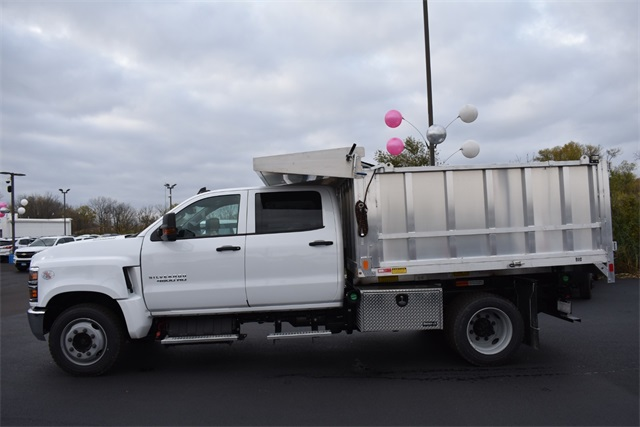 2020 Chevrolet Silverado 4500 Crew Cab DRW 4x2, Monroe MTE-Zee Landscape Dump #42787 - photo 6