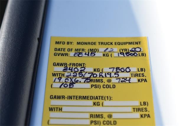 2020 Chevrolet Silverado 4500 Regular Cab DRW 4x4, Monroe MTE-Zee SST Series Dump Body #43117 - photo 31