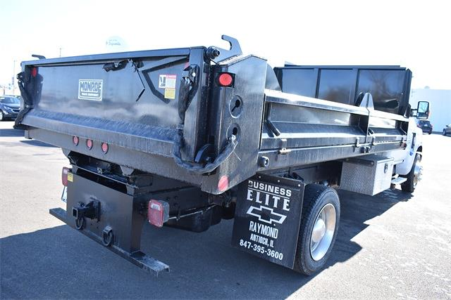 2020 Chevrolet Silverado 6500 Regular Cab DRW 4x2, Crysteel Contractor Dump Body #43218 - photo 2