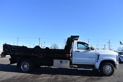 2020 Chevrolet Silverado 6500 Regular Cab DRW 4x2, Crysteel Contractor Dump Body #43218 - photo 3