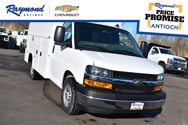 2021 Chevrolet Express 3500 4x2, Knapheide Service Utility Van #43309 - photo 1
