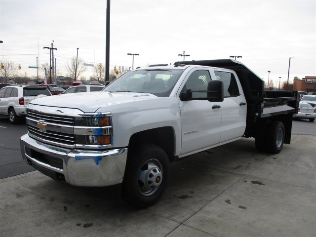2016 Silverado 3500 Crew Cab 4x4, Knapheide Dump Body #161070 - photo 4