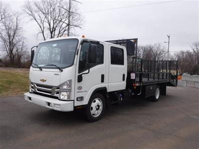 2017 Low Cab Forward Crew Cab 4x2,  Wil-Ro Standard Dovetail Landscape #17130 - photo 3