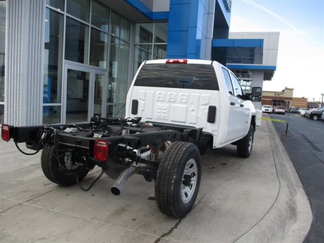 2017 Silverado 2500 Double Cab 4x4, Cab Chassis #17358 - photo 2