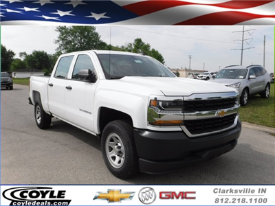 2017 Silverado 1500 Crew Cab 4x4, Pickup #17551 - photo 1