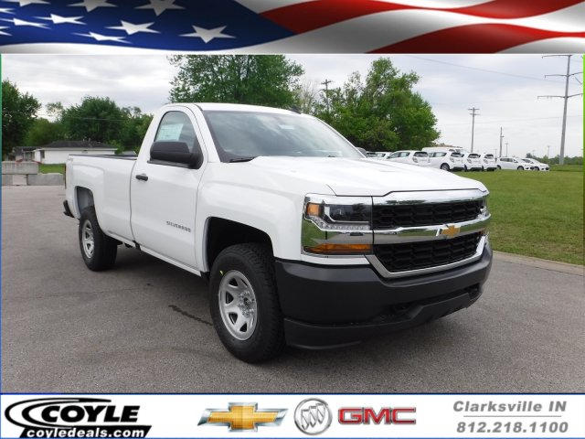 2017 Silverado 1500 Regular Cab 4x4, Pickup #17609 - photo 1