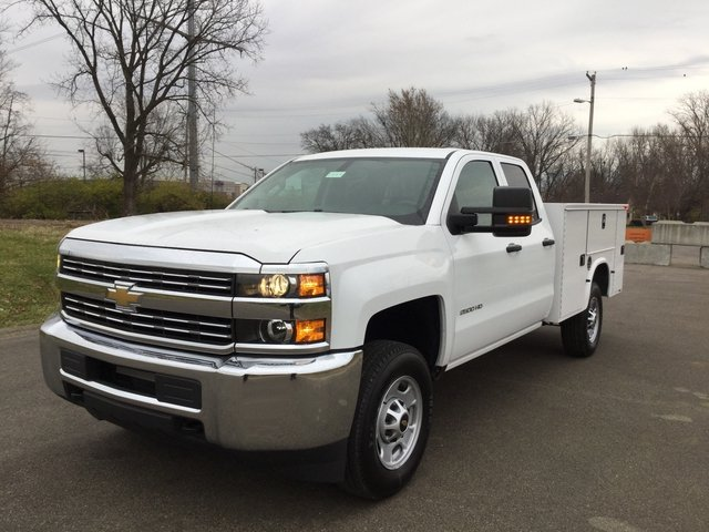 2017 Silverado 2500 Double Cab 4x4, Knapheide Service Body #17649 - photo 3