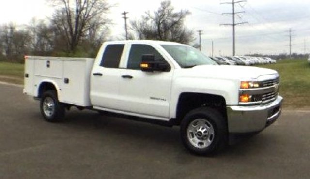 2017 Silverado 2500 Double Cab 4x4, Knapheide Service Body #17649 - photo 31