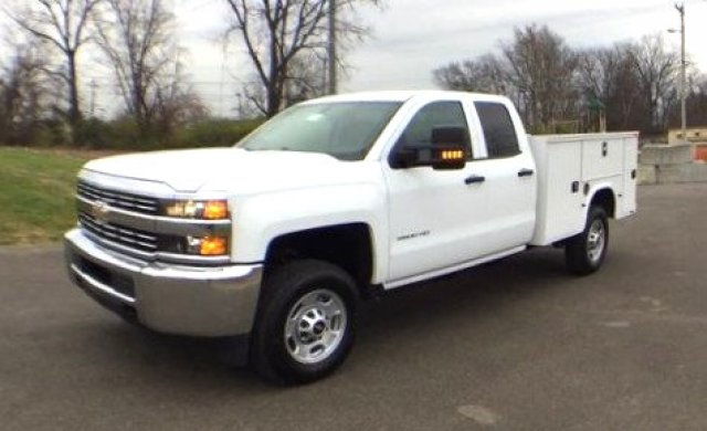2017 Silverado 2500 Double Cab 4x4, Knapheide Service Body #17649 - photo 33