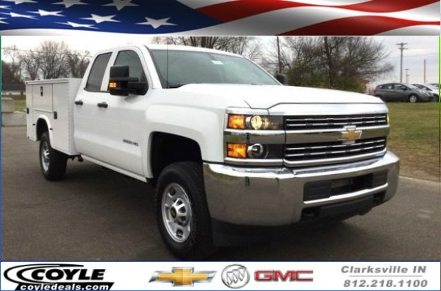 2017 Silverado 2500 Double Cab 4x4, Knapheide Standard Service Body #17649 - photo 1