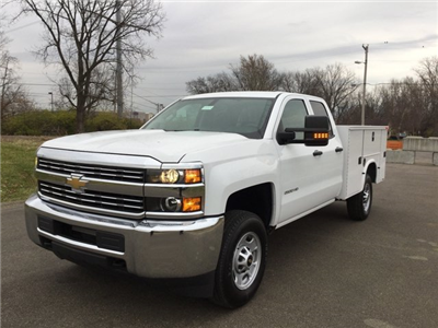 2017 Silverado 2500 Double Cab 4x4, Knapheide Standard Service Body #17649 - photo 3