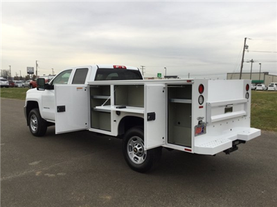 2017 Silverado 2500 Double Cab 4x4, Knapheide Standard Service Body #17649 - photo 18