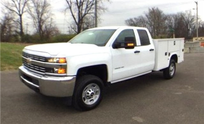 2017 Silverado 2500 Double Cab 4x4, Knapheide Standard Service Body #17649 - photo 33