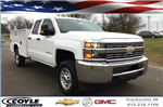 2017 Silverado 2500 Double Cab 4x4, Knapheide Service Body #17649 - photo 1