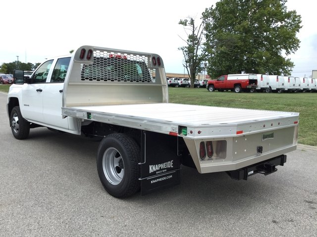 2017 Silverado 3500 Crew Cab DRW 4x4 Platform Body #17727 - photo 14