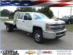 2017 Silverado 3500 Crew Cab 4x4, Platform Body #17727 - photo 1
