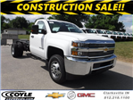 2017 Silverado 3500 Regular Cab 4x4, Cab Chassis #17735 - photo 1