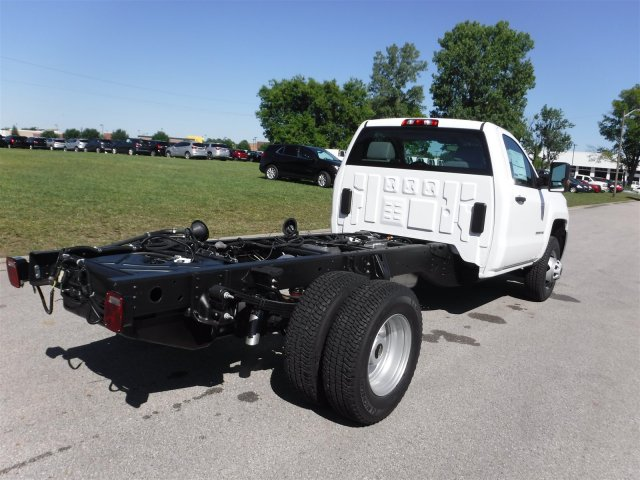 2017 Silverado 3500 Regular Cab 4x4, Cab Chassis #17736 - photo 2