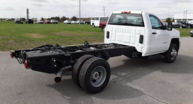 2017 Silverado 3500 Regular Cab DRW, Cab Chassis #17896 - photo 2