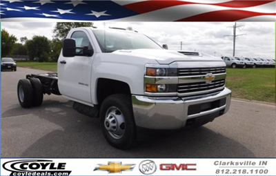 2017 Silverado 3500 Regular Cab DRW, Cab Chassis #17896 - photo 1