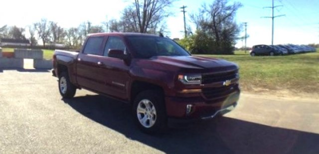 2017 Silverado 1500 Crew Cab 4x4 Pickup #17924 - photo 27