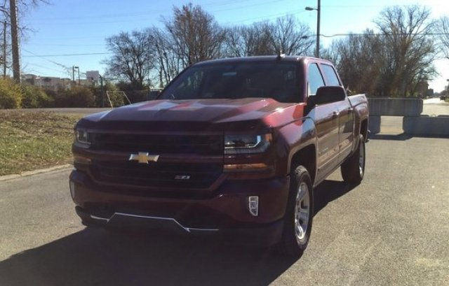 2017 Silverado 1500 Crew Cab 4x4 Pickup #17924 - photo 36